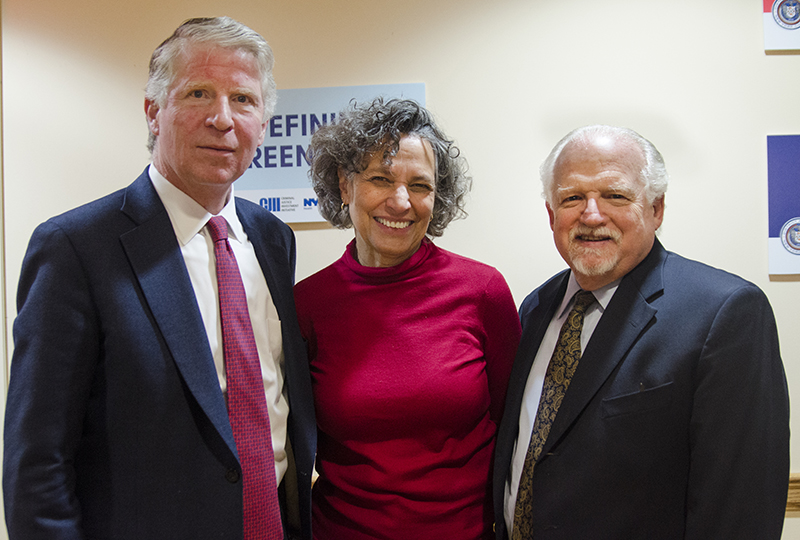 DA Vance, Commissioner Bassett and Dr. Calman