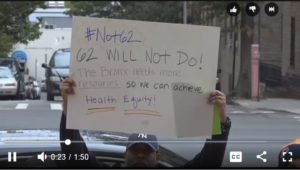 A video of the #Not62 rally.