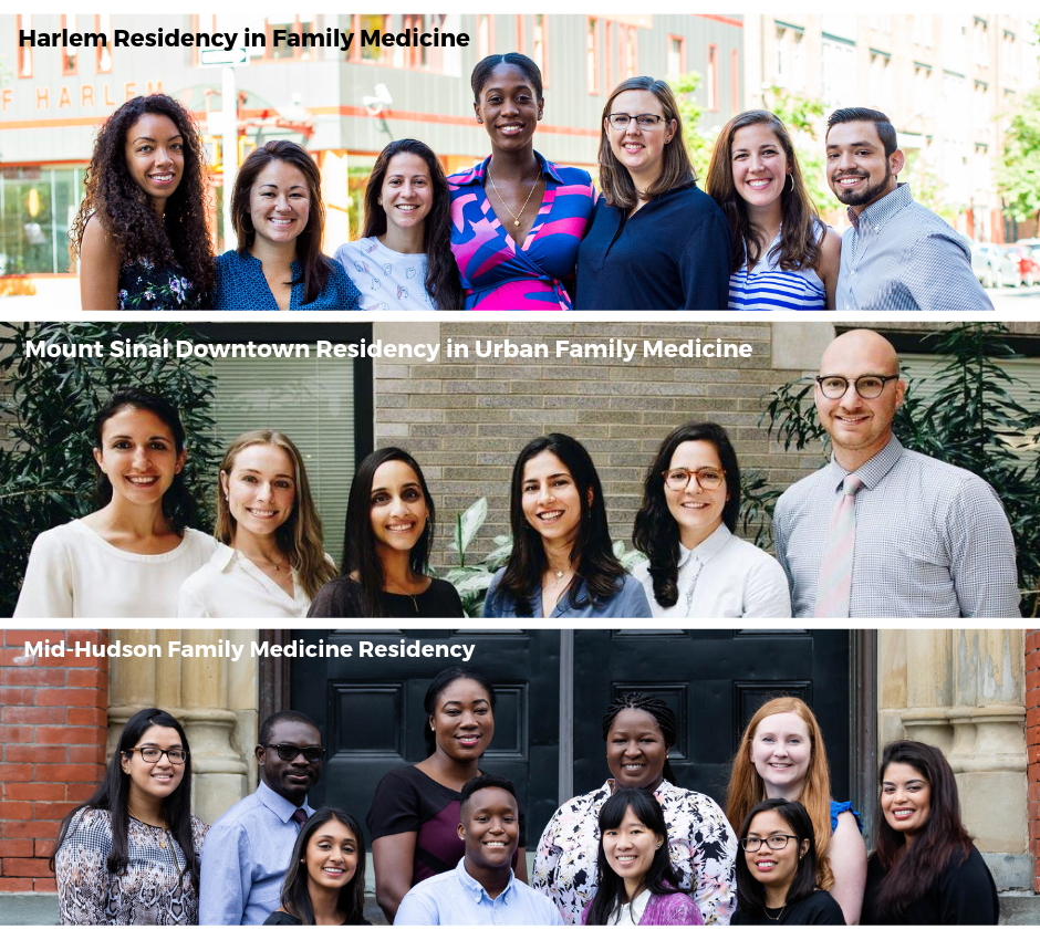 A photo of the new family physicians who comprise the Institute's family medicine residency Class of 2022.